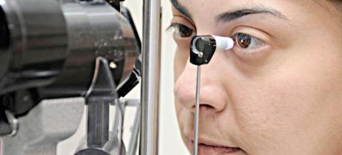 Офтальмологический тонометр Гольдмана – самый распространенный прибор для измерения ВГД