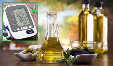 Оливковое масло первого отжима снижает давление (Dietary Guidelines for Americans)