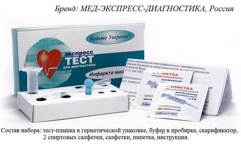 Самая доступная цена 1 экспресс-теста инфаркта сердца на I-тропонин: 256 руб. (2019 г.)