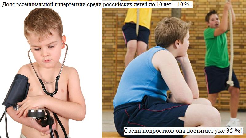 В увеличении количества школьников-гипертоников винят ожирение и малоподвижность
