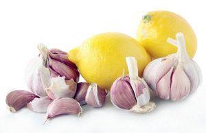 Чесночно-лимонная смесь