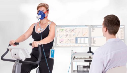 Один из вариантов кардиореспираторного нагрузочного тестирования