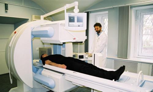 Томограф для сцинтиграфии сердечной мышцы