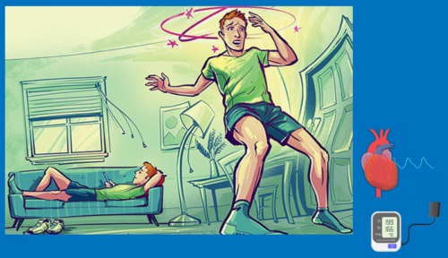 Ортостатический обморок — кратковременная утрата сознания после резкого вставания