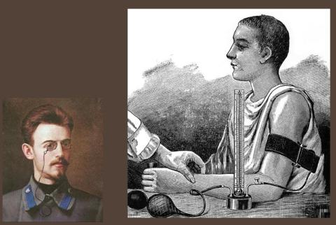 Звуковой метод измерения артериального давления придумал в 1905 году сосудистый хирург Н.С. Коротков